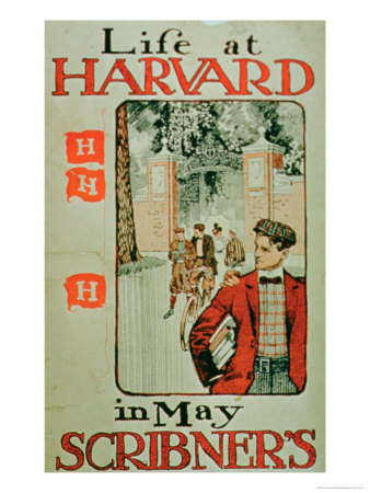 american-school-life-at-harvard-poster-advertising-the-may-edition-of-scribners-magazine