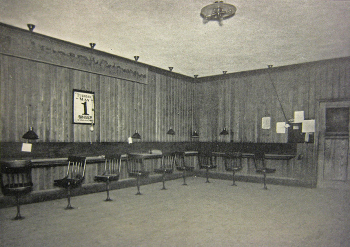 The reporters room