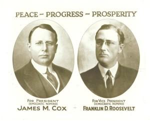 cox roosevelt