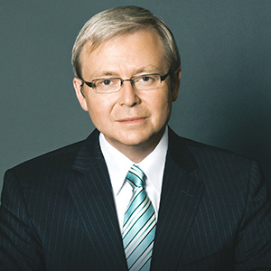 Kevin Rudd, Former Prime Minister of AustraliaFireside Chat: US, Australia and the The Future of the Pacific Rim